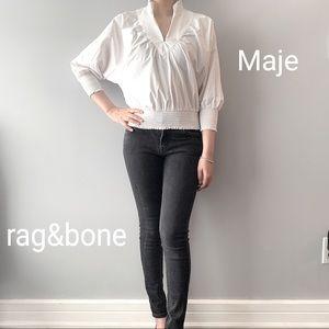 EUC Maje Tops with rag&bone Jeans
